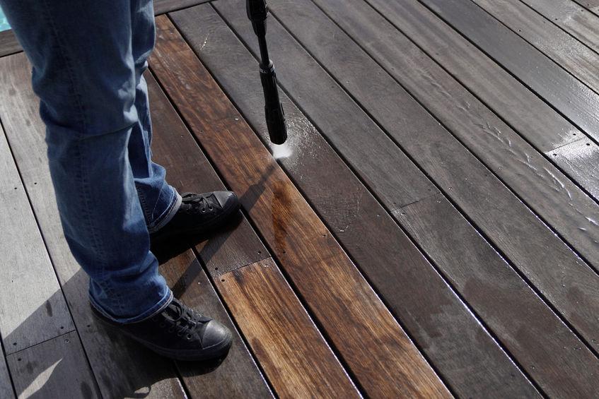 Blackwood Pressure Cleaning Deck