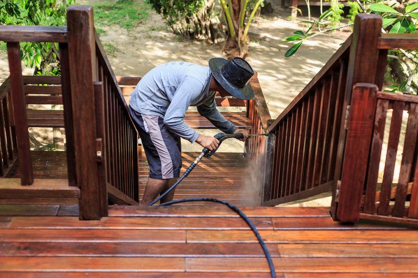 Blackwood Pressure Washing Patio