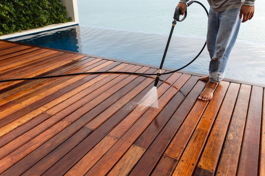 Blackwood Pressure Washing Deck and Pool