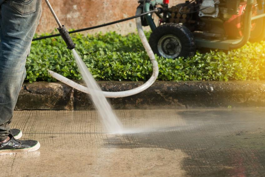 Blackwood Pressure Washing Gutter