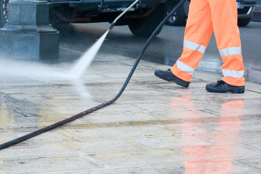 Blackwood Pressure Washing Concrete